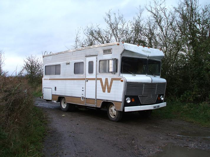 A Winnebago from the 70s