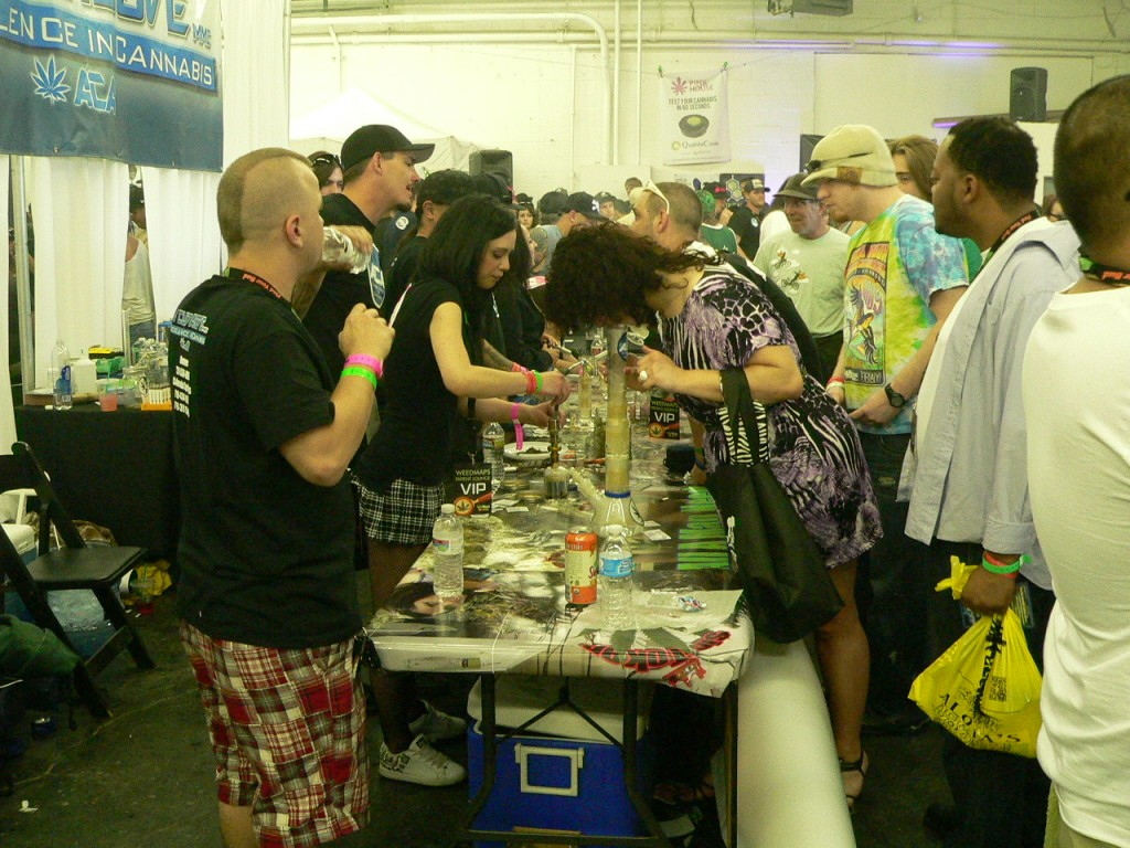decadence at The Cannabis Cup Denver 2012
