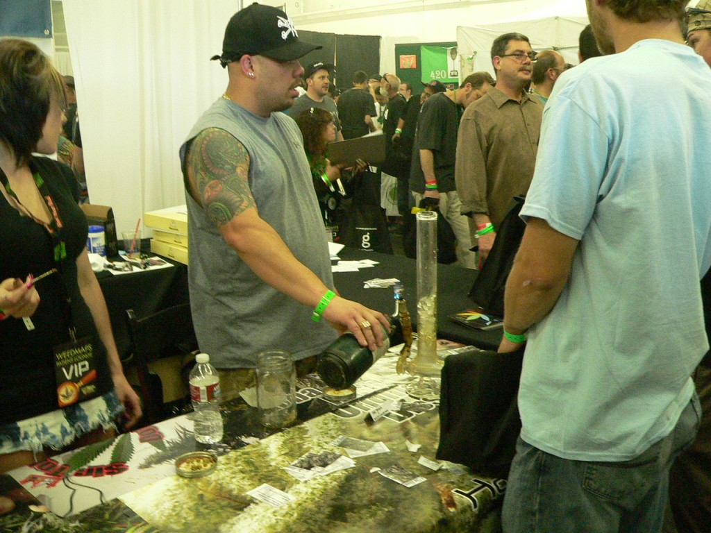 dabs ruled the day at The Cannabis Cup Denver 2012