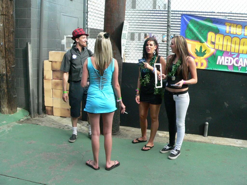 babeage at The Cannabis Cup Denver 2012