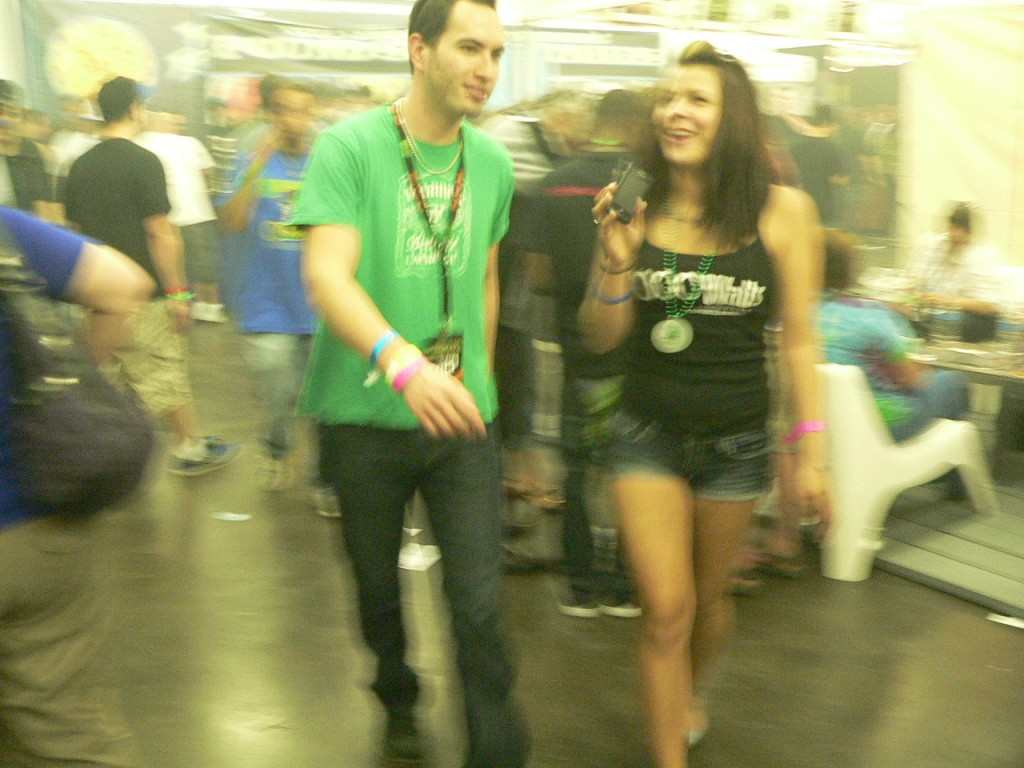 things get a little blurry at The Cannabis Cup Denver 2012