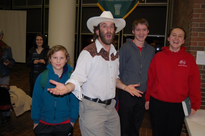 Too High to Fail author Doug Fine in cowboy hat and shirt