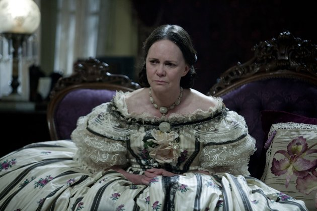 Sally Fields as Mrs. Lincoln in Lincoln