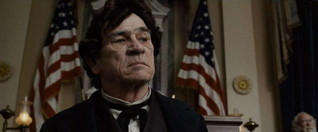 tommy lee jones as thaddeus stevens in Lincoln