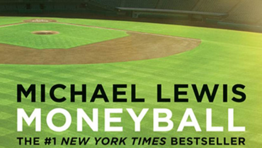 The cover of Michael Lewis' Moneyball