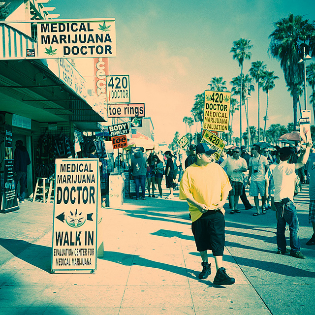 the doctor is in MMJ on Venice Boardwalk