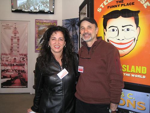 NY senator Diane Savino at Coney Island